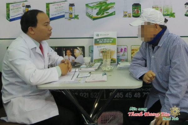 Chú Minh bệnh nhân điều trị hôi miệng