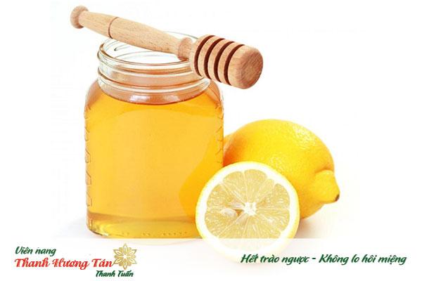 Chữa hôi miệng bằng chanh và mật ong do viêm họng hạt gây ra