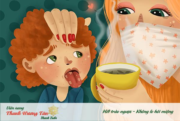 Bổ sung chất cho trẻ em chữa viêm lưỡi
