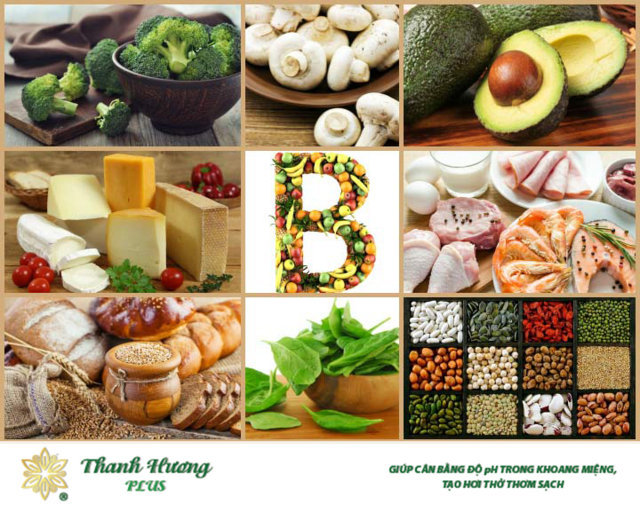Bổ sung thực phẩm chứa nhiều vitamin B hàng ngày ngăn ngừa viêm loét miệng