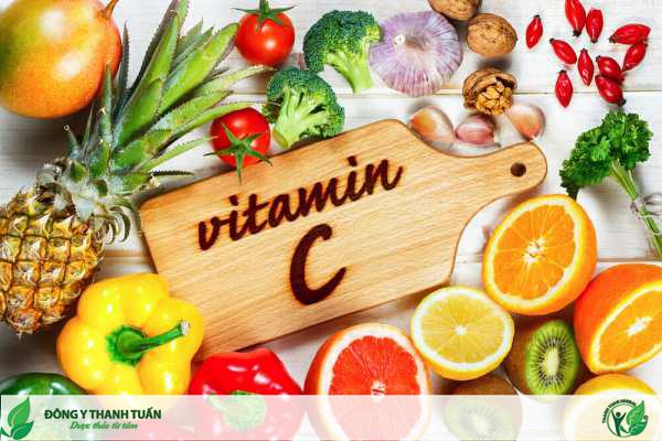 Vitamin C chữa nhiệt miệng
