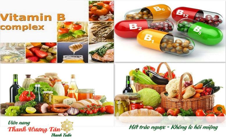 Vitamin B chữa khô mép miệng