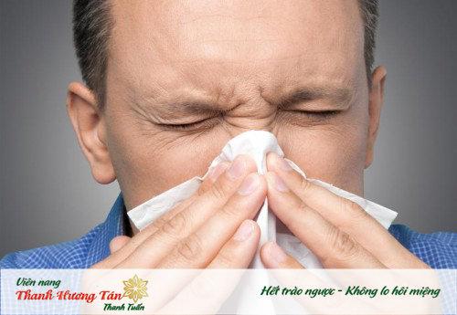 viêm xoang gây đắng miệng