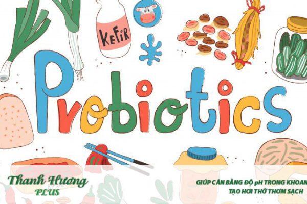 Bổ sung thực phẩm tươi và men vi sinh nhằm ngăn chặn sự nhiễm trùng và đắng họng