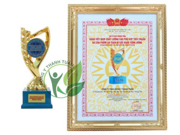 Đông Y Thanh Tuấn đón nhận giải thưởng BEST PRODUCT với sản phẩm Thanh Hương Tán Thanh Tuấn