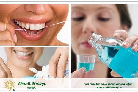 Vệ sinh răng miệng sạch sẽ là cách giúp đánh bay vị đắng ở miệng