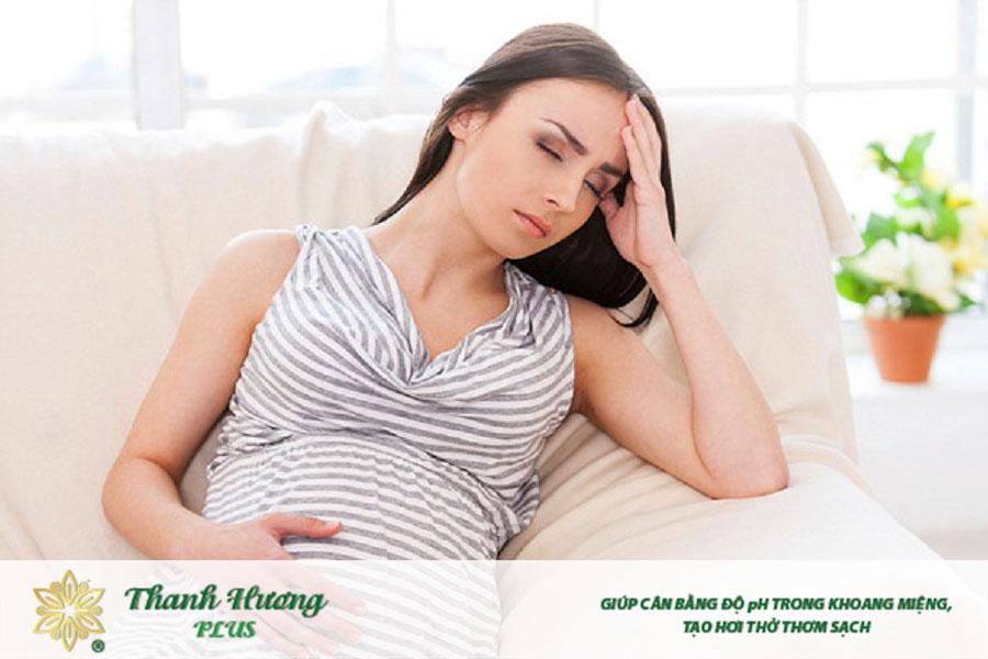 Đắng miệng khi mang thai dù do nguyên nhân nào cũng đều ảnh hưởng đến mẹ bầu